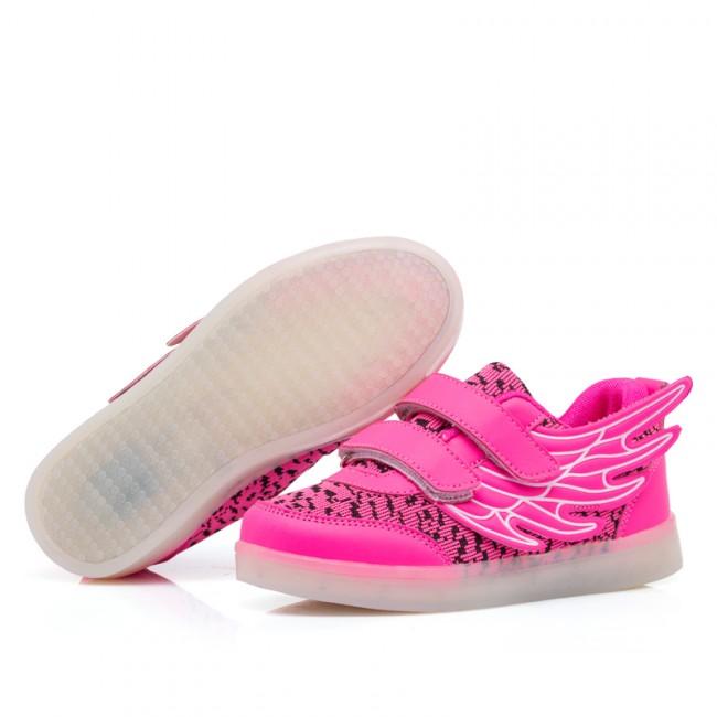 650x650 Kids Yezi Luminous Shoes With Wings High Reputation