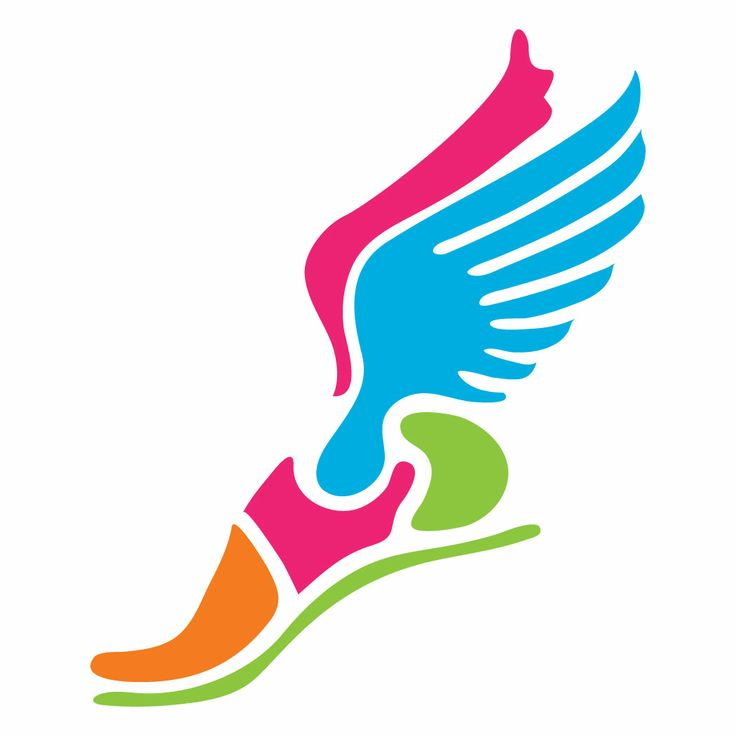 736x736 Running Shoe With Wings Clipart