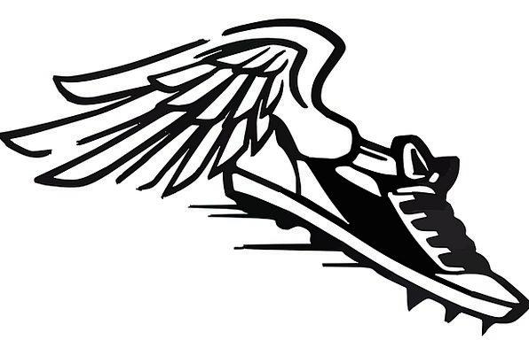 596x384 Running Shoes, Haste, Wings, Annexes, Speed, Sports, Sneaker