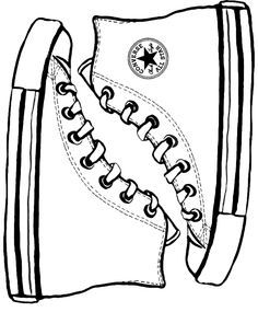 236x285 Pete The Cat Activities Free Converse Shoe Template By Tuck3rd