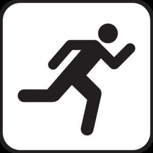 300x300 Running Icon Clip Art