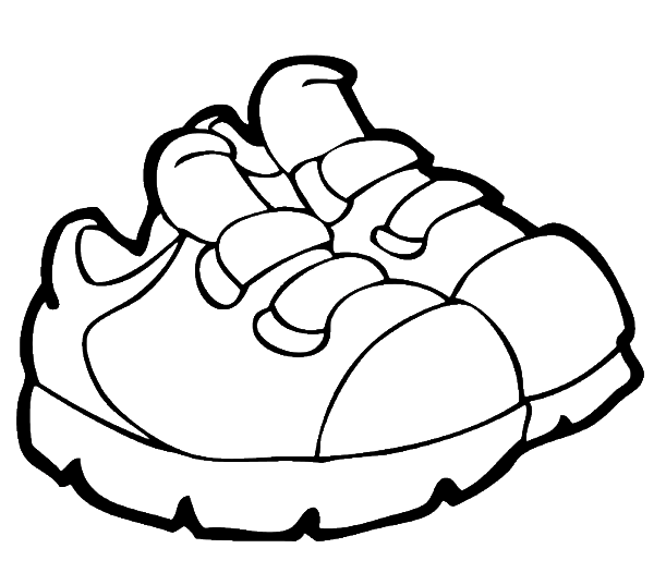 Shoes Black And White Clipart