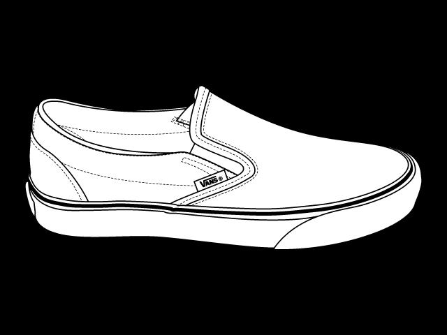 640x480 Shoe Clipart Vans