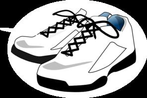 296x198 Tennis Shoes Clipart