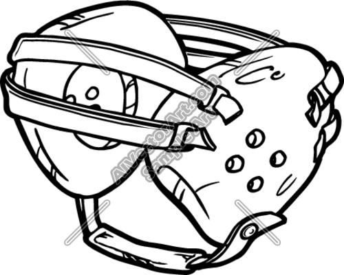 500x400 Wrestling Headgear Clipart