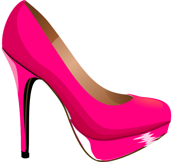 600x565 Free Shoes Clipart Image