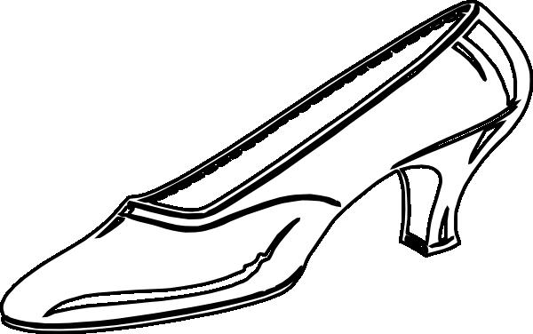 600x376 Shoe clip art ladies shoes clipart cliparts for you