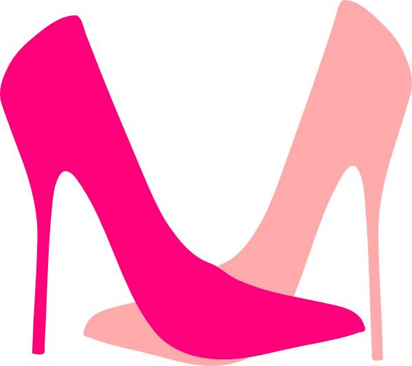 600x533 Shoe clipart pink shoe