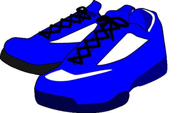 600x377 Blue Shoes Clip Art
