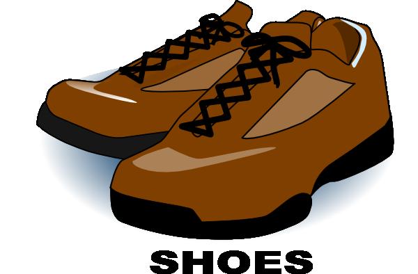 600x394 Brown Shoes Clip Art