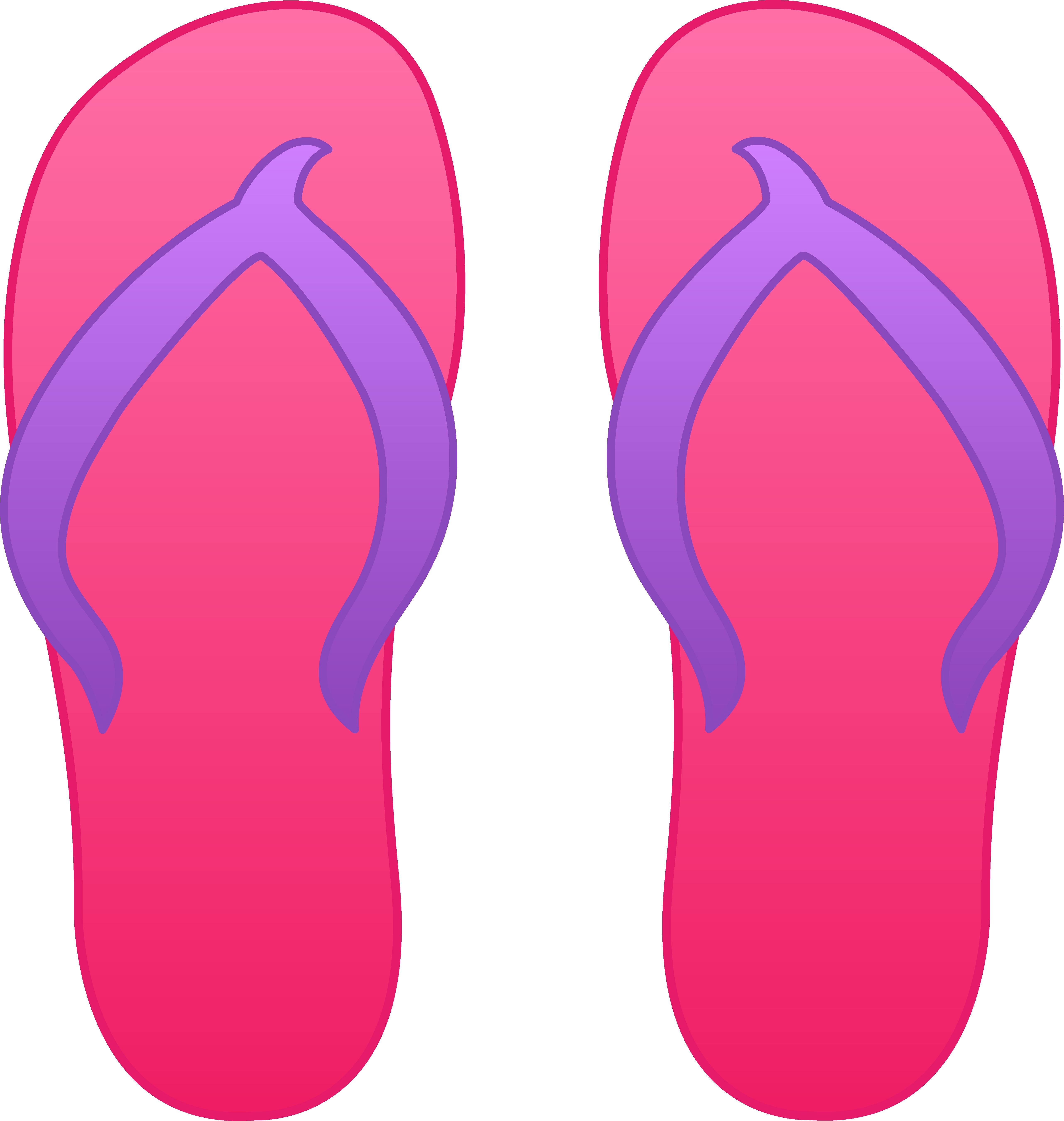 5124x5398 Pink Flip Flops