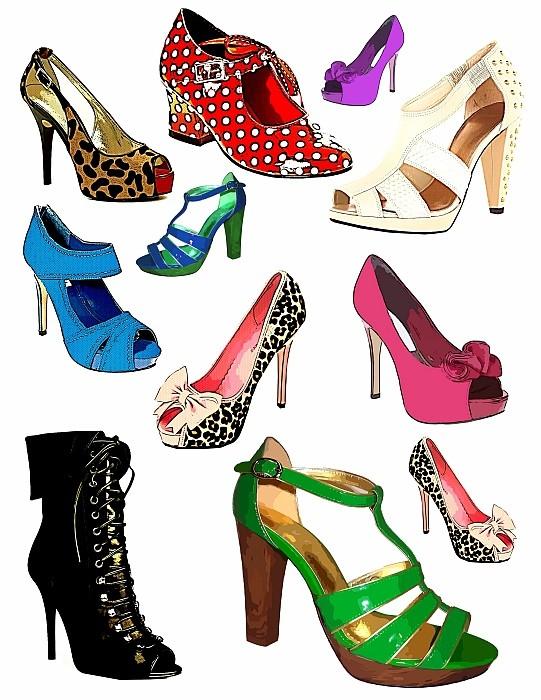 541x700 Top 73 Shoes Clip Art