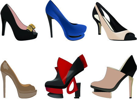 450x327 Women Shoes Silhouette Clip Art Free Vector Download (214,034 Free