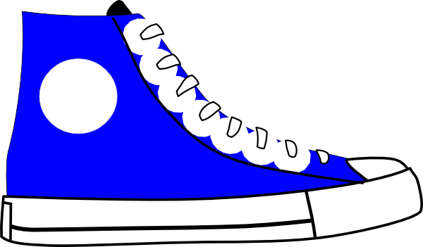 600x351 Clip Art Tennis Shoes Clipart