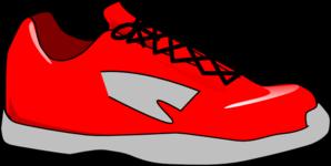 298x150 Red Shoe Clip Art