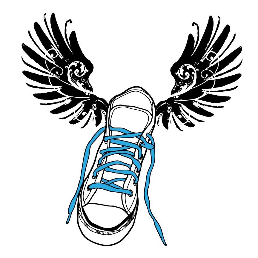 864x864 Track Shoe Clip Art