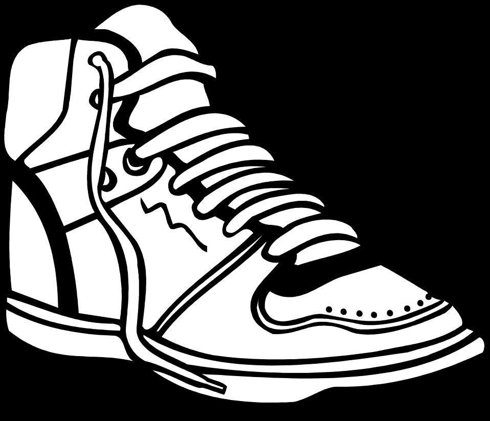958x824 Clip Art Basketball Shoes Clipart