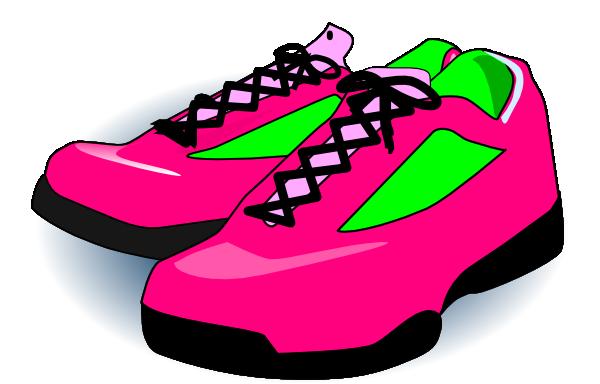 600x384 Clip Art Shoes