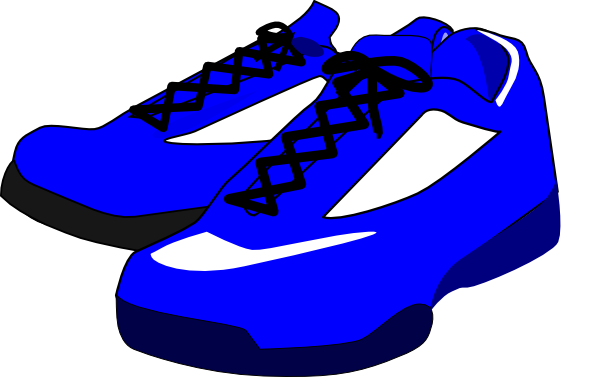 600x377 Free School Shoes Clipart Image