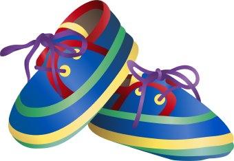 340x234 Boys Shoe Clipart