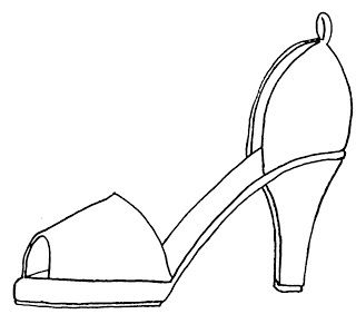 Shoes Outline