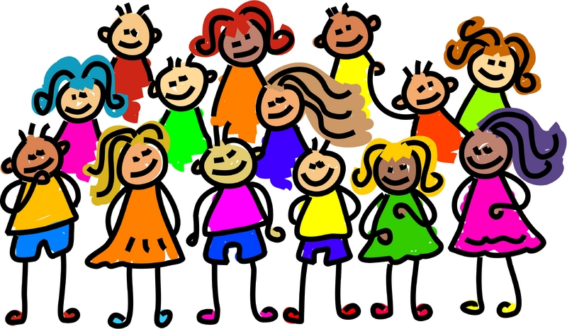 800x464 School Friends Clipart