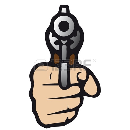 Shooting Gun Clipart
