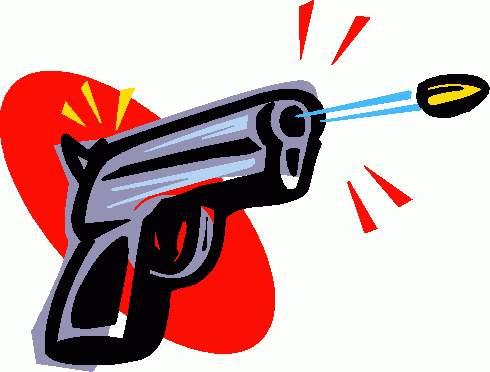 490x372 Shoot Clipart Gun
