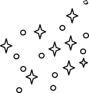 285x298 White Stars Clipart Free Clipart Images