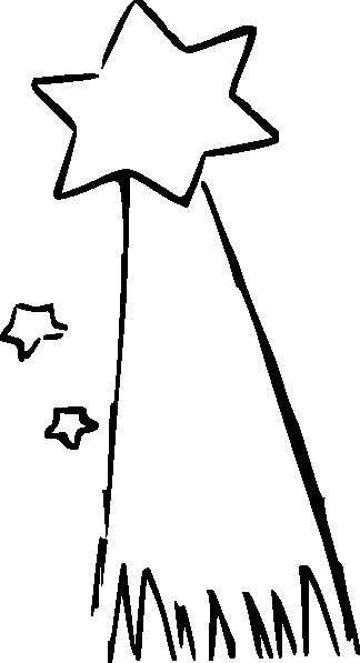324x597 Shooting Star Drawing