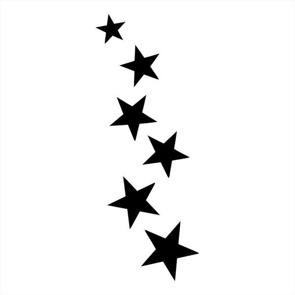 600x600 42 Best Moon And Shooting Star Tattoos Templates Images