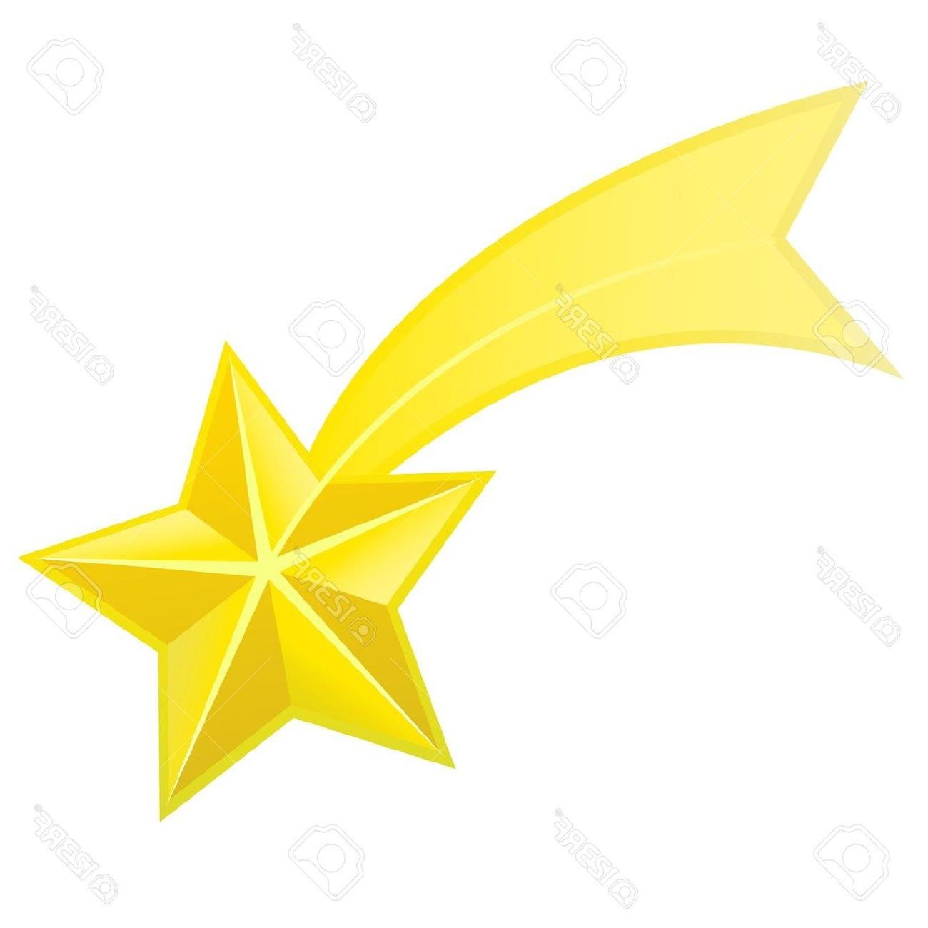 1300x1300 Unique Shooting Star Vector Stock Et Drawing