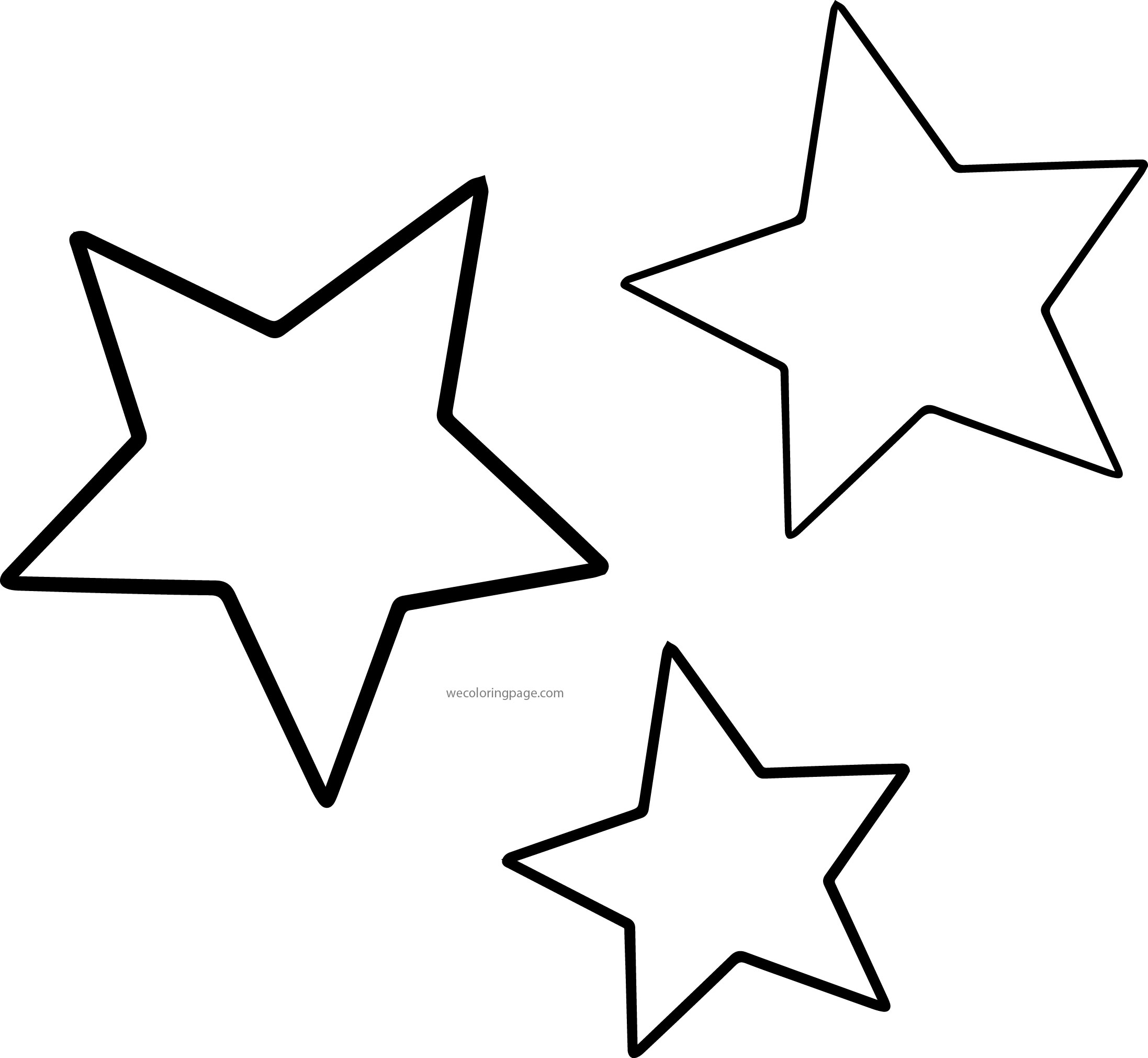 star coloring pages for toddlers - photo#22