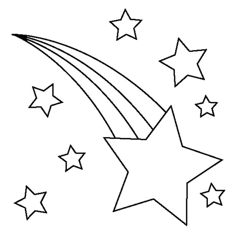 1024x1024 Fancy Star Coloring Pages 27 For Coloring Books With Star Coloring