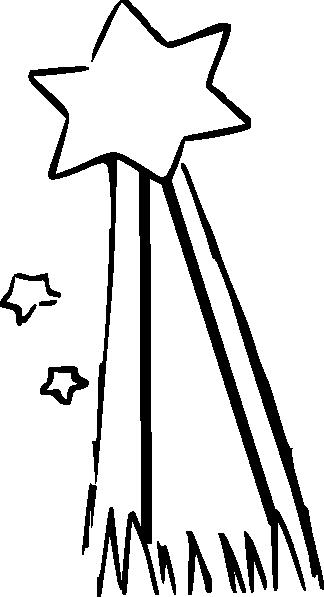 324x597 Shooting Star Clip Art
