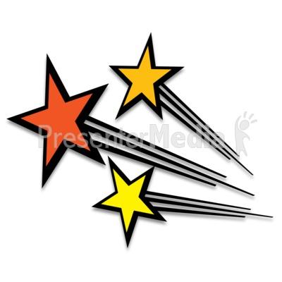 400x400 Shooting Star Clipart