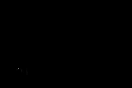 450x300 Shooting Star Outline Clip Art