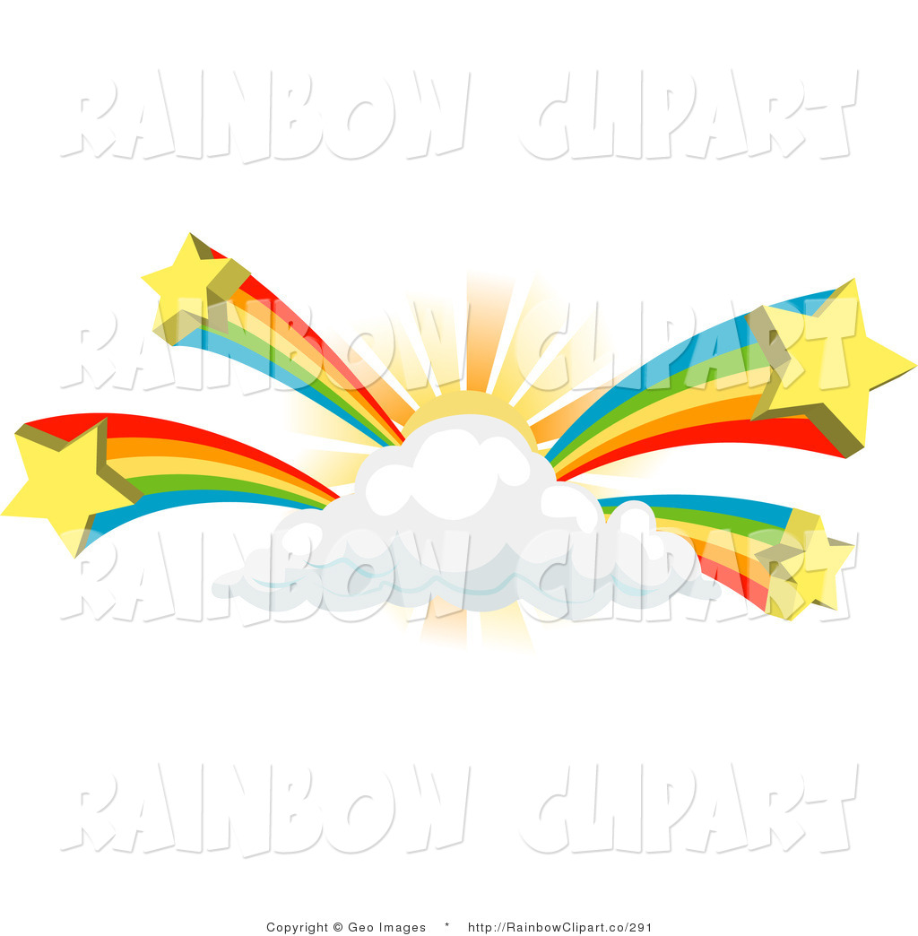 rainbow clipart sun cloud shooting stars star clip clipartpanda vector designs clipartmag behind clipground