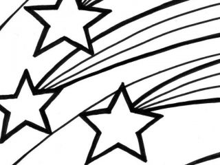 320x240 Shooting Star Coloring Pages Shooting Star Coloring Pages Free