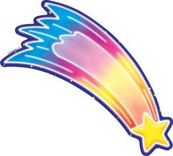 252x227 Blue Star Shooting Star Clipart 2101862