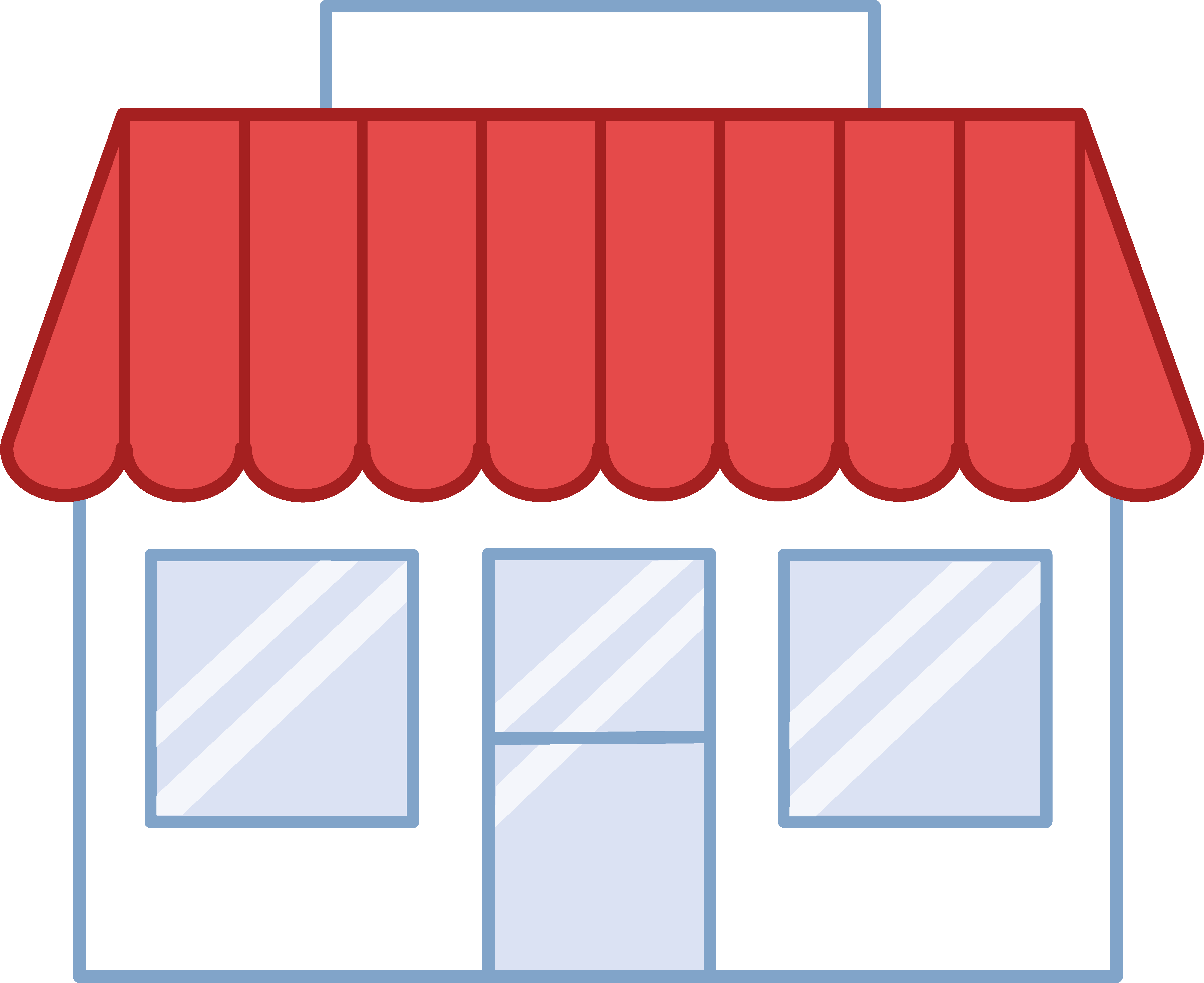 5628x4597 Store Building Free Clipart Clipart Building