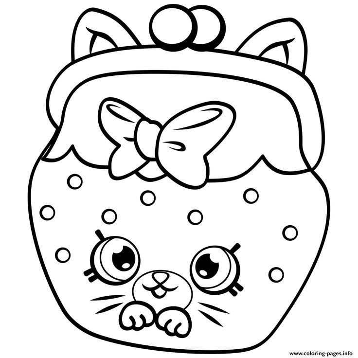 graphic about Free Printable Shopkins Coloring Pages known as Shopkins Year 4 Drawing Totally free down load perfect Shopkins