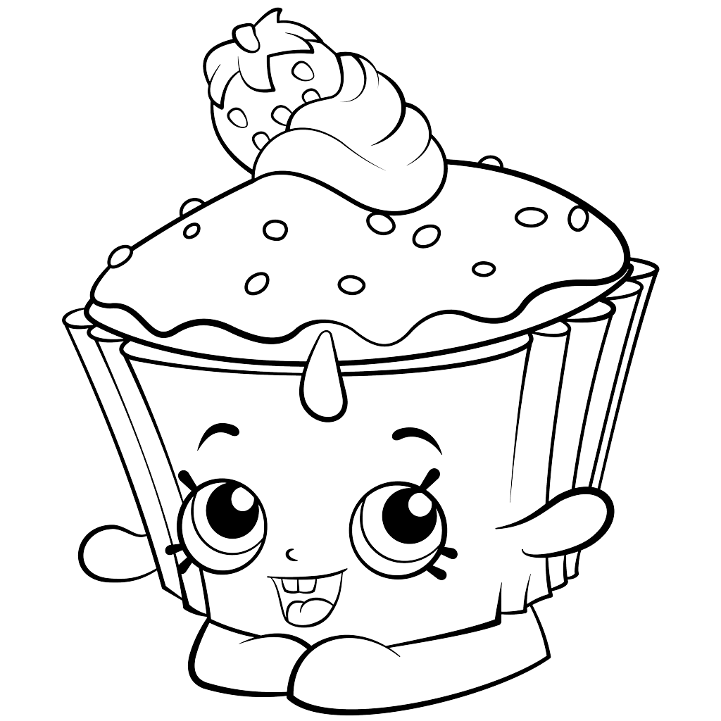 1024x1024 Exclusive Shopkins Colouring Pages Cupcake Chic