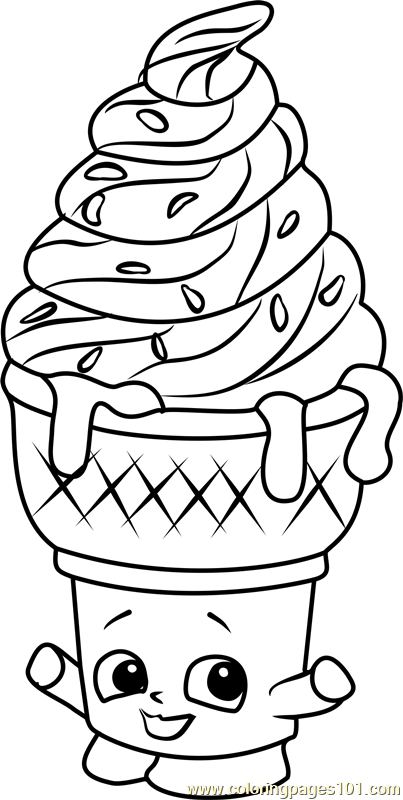 Shopkins Coloring Pages Free Download Best Shopkins