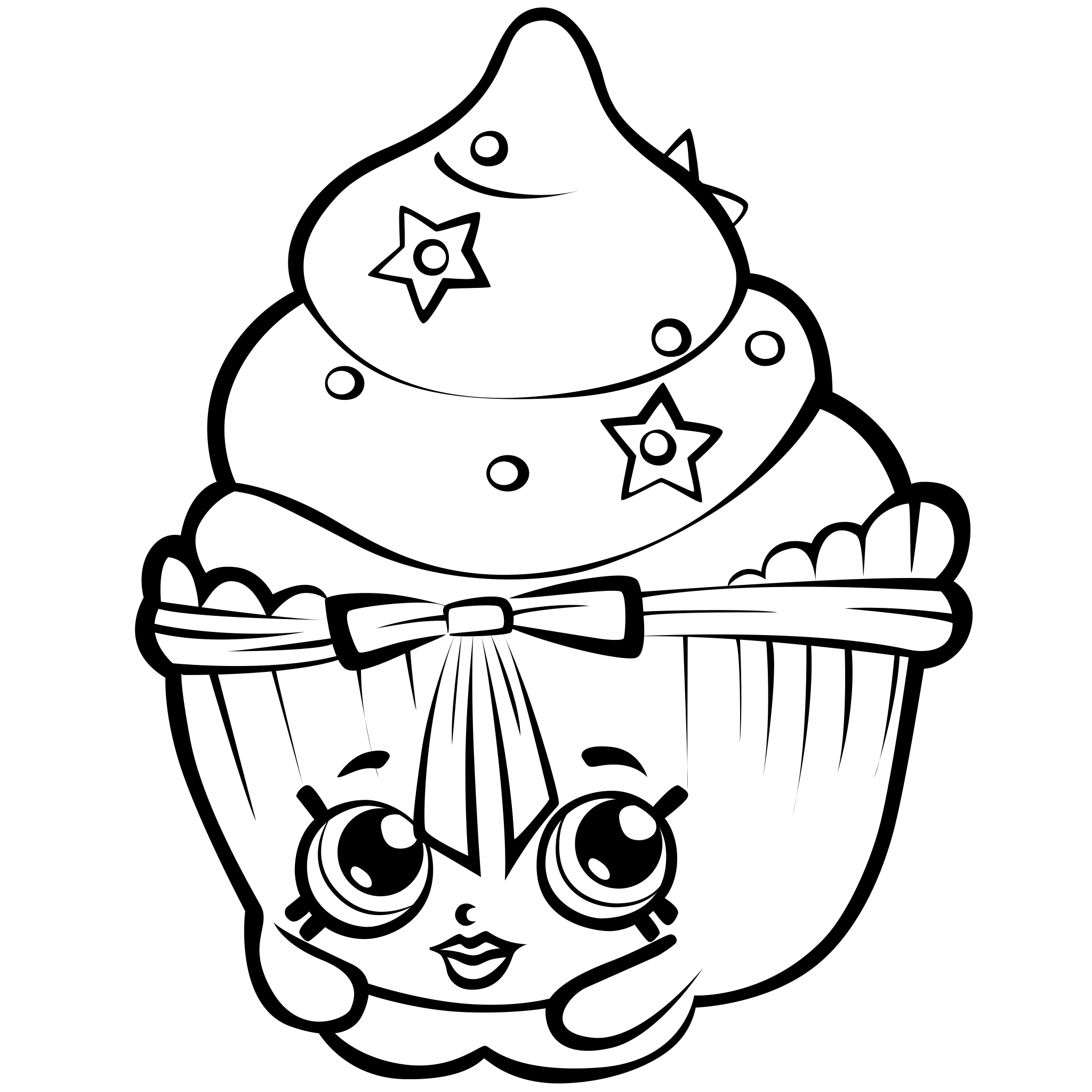 2048x2048 Shopkins Coloring Pages
