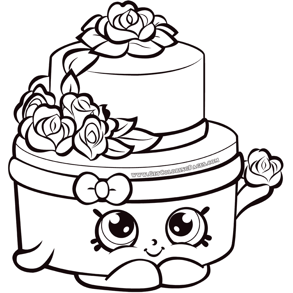 Shopkins Coloring Pages Free download on ClipArtMag