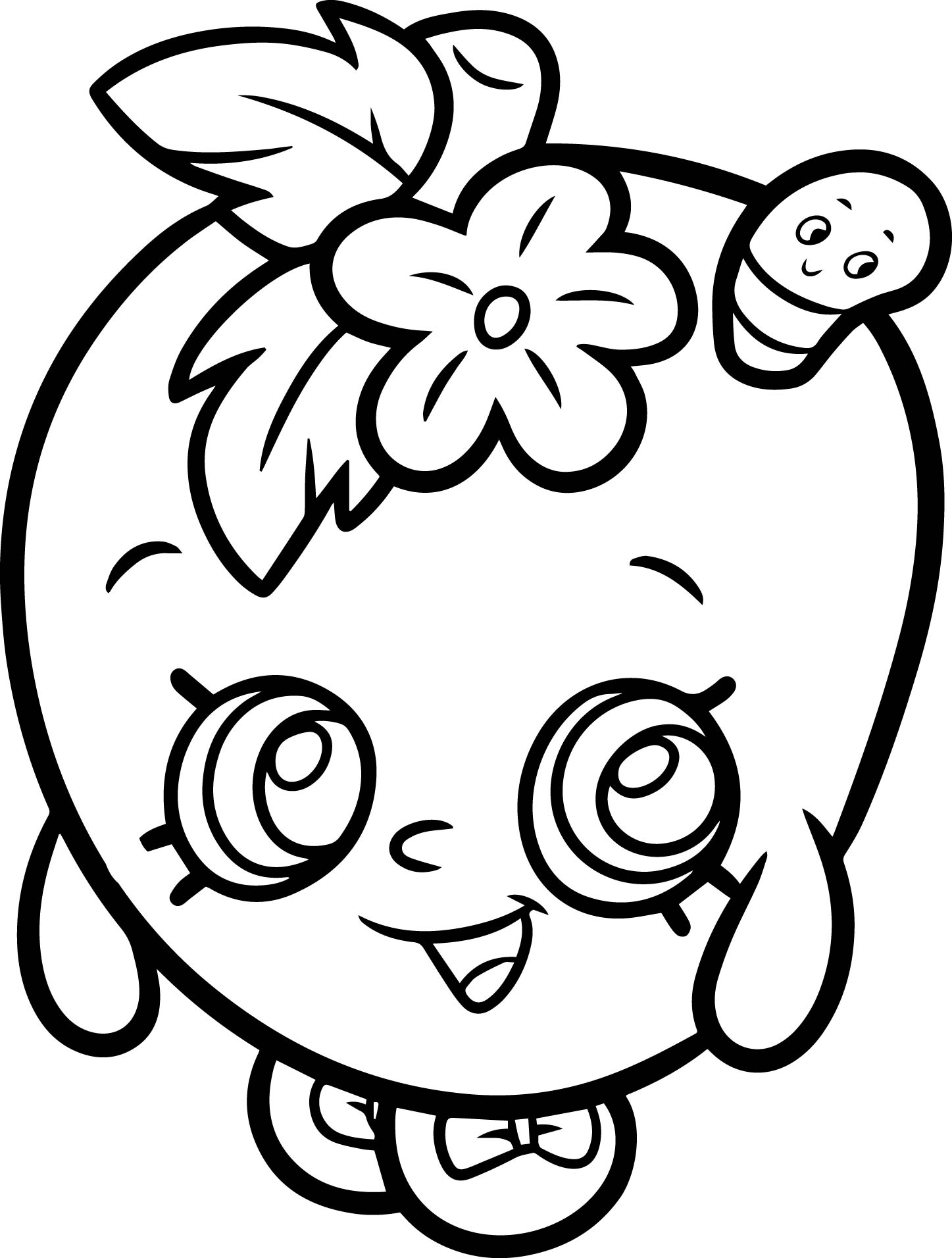 Shopkins Coloring Pages Free