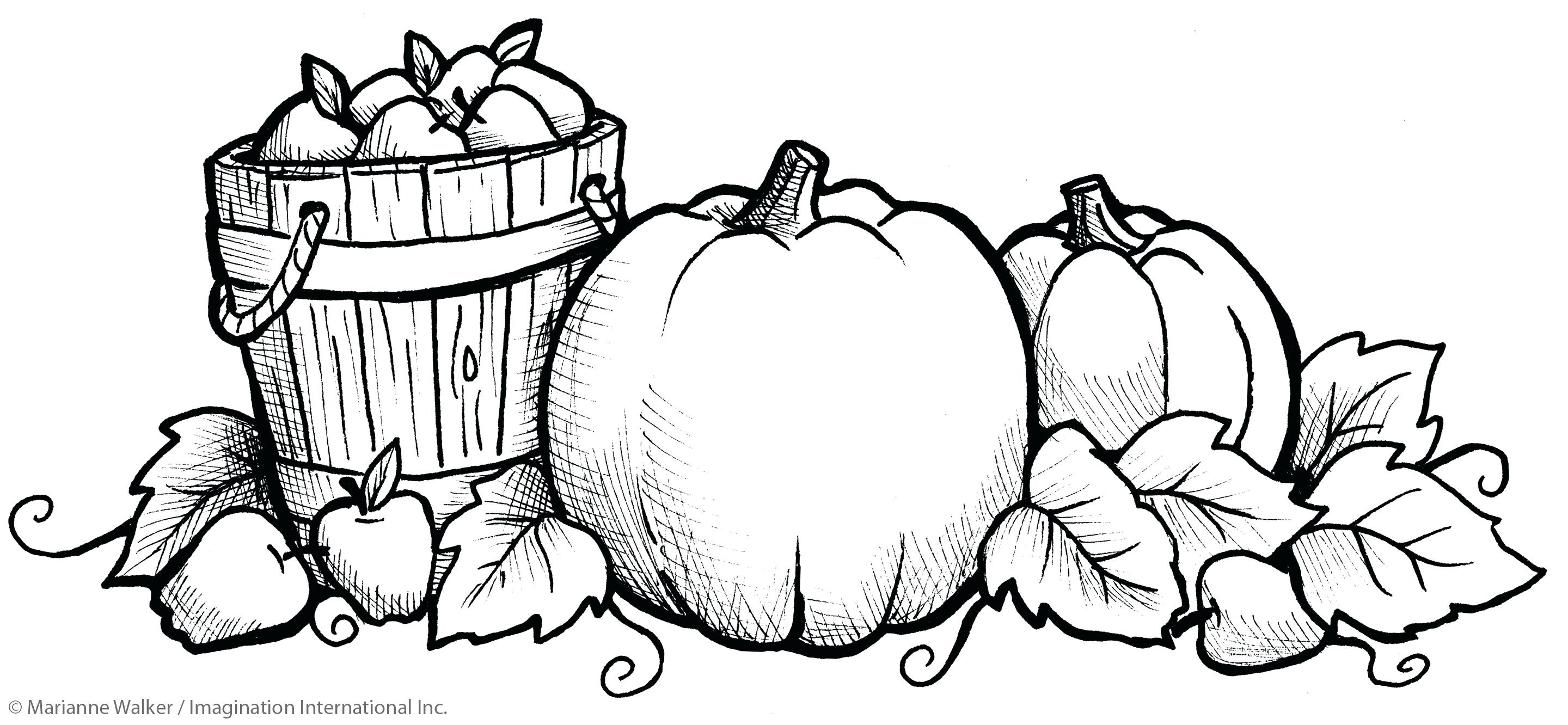 2880x1332 Free Fall Coloring Pages Printable Autumn To Print Four Seasons