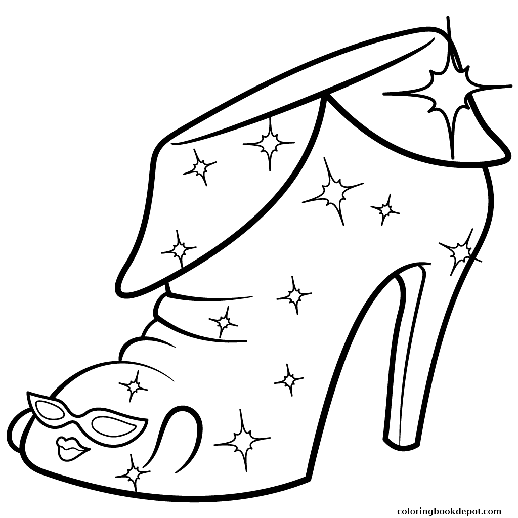 1024x1024 Limited Edition Angie Ankle Boot Shopkins Season 2 Coloring Pages