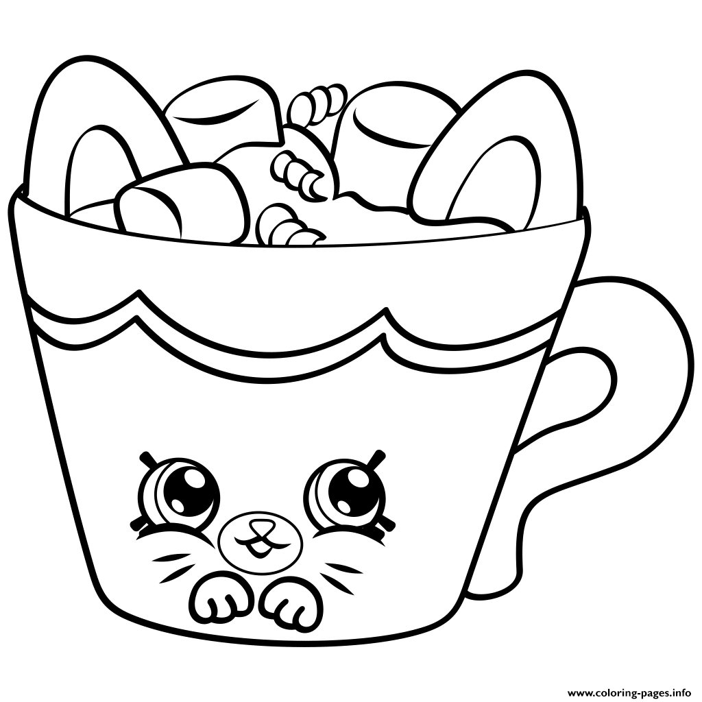 1024x1024 Petkins Season Four Shopkins Season 4 Coloring Pages Printable